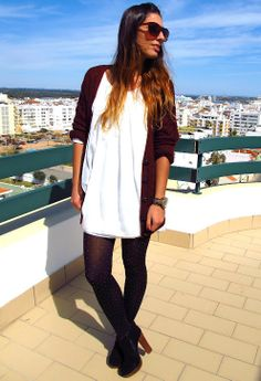 Here I am ♥ #outfit , Primark in Cardigans, Ebay in Dresses, Primark in Socks / Tights, Love Clothing in Boots