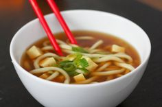 Udon-Misosuppe - eat this!