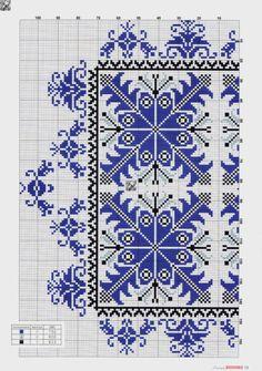 Ukraine , ♥ , from Iryna Just Cross Stitch, Cross Stitch Borders, Cross Stitch Charts, Cross Stitch Designs, Cross Stitch Patterns, Folk Embroidery, Vintage Embroidery, Cross Stitch Embroidery, Celtic Quilt