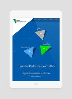 Web Performance webdesign by Benvisual Lorem Ipsum, Web Design, Chart, Social Media, Grief, Design Web, Social Networks, Website Designs