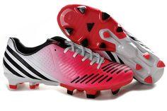 Adidas Predator LZ TRX FG Football Shoes Red Black White Cheap Soccer  Shoes 9b08382cc4