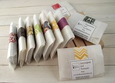 To Packaging Homemade Soap Label Examples Of Different Ways