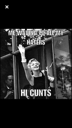 """i don't think i have, """"haters"""", i just think this is funny! Funny Cute, Hilarious, Funny Memes, Jokes, Sarcasm Humor, Twisted Humor, E Cards, Funny Cards, Humor"""