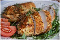 Soczysta pierś kurczaka z piekarnika