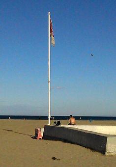 Malvarrosa beach in November 2014 (Valencia)