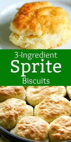 Bisquick Biscuits - Sprite - Ideas of Sprite - Sprite Biscuits- All Things Mamma These SpriteBiscuits are the easiest biscuits youll ever make! They turn out perfect every time! Bisquick Recipes Biscuits, Homemade Biscuits Recipe, Easy Biscuit Recipe 3 Ingredients, Homemade Breads, Simple Biscuit Recipe, Pillsbury Biscuit Recipes, Best Biscuit Recipe, Buttery Biscuits, Crack Crackers