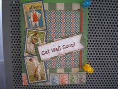 GET WELL for a male friend recuperating from surgery