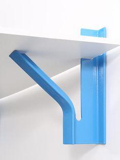Metal Sheet Design, Sheet Metal, Metal Furniture, Cool Furniture, Furniture Design, Contemporary Shelving, Bookshelf Desk, Metal Bending, Metal Art