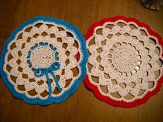 I think this doily pattern will be awesome to make with bigger hook/fiber as an area rug!
