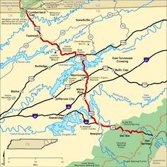 Natcez Trace Scenic Byway travels through Tennessee Alabama and