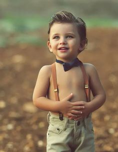 This little boy is gorgeous! And i love this haircut idea for my fat boy