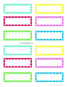 4 Best Images of Free Blank Printable Labels - Free Printable Candy Label Templates, Free Printable Vintage Blank Labels and Free Printable Labels Printable Name Tags, Printable Labels, Free Printables, Free Label Templates, Labels Free, Halloween Bottle Labels, Organizing Labels, Kids Labels, School Labels
