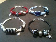 Pulseras abalorios - bracelets DIY