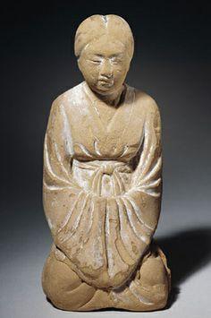 Japan (Nara Prefecture, Horyuji) - 710-794 Nara Period (clay, Rockefeller Collection)   Flickr - Photo Sharing!