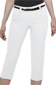 Golf Clothes Women | Nike Basics Golf Crop Pant White
