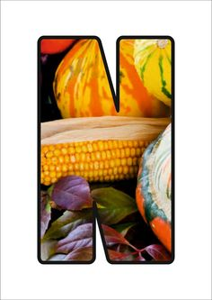Autumn Activities, Font Styles, Preschool, Vegetables, Crafts, Letters, Food, Alphabet, Preschool Labels