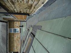 GRP secret gutter & green slate roof by Derry Construction Ltd. 2012