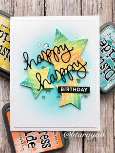Homemade Birthday Cards, Birthday Cards For Men, Man Birthday, Homemade Cards, Christmas Star, Christmas Cards, Crafty Angels, Masculine Birthday Cards, Star Cards