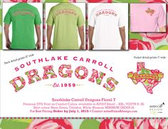 Freshly picked and designed just for Dragons! Look for it a spirit shop near you soon!