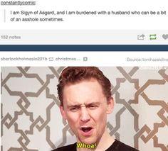 Loki and Sigyn, hahaha