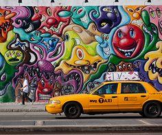 America's Coolest Street Art: New York City
