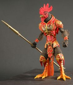 Awesome birdmen figures from the Four Horsemen -  never thought of this kind of warrior!! LOL