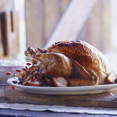 Maple-Tarragon Glazed Turkey