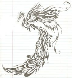 phoenix sketch thingy by ~Nino2303