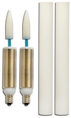 Bulbrite LED/FLKR/E12 LED Retrofit Flickering Candle with Sleeve - Listing price: $51.90 Now: $38.96 + Free Shipping