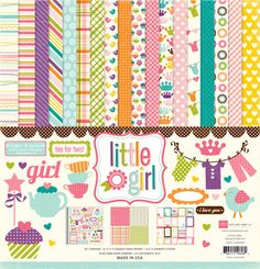 Echo Park Paper Kit Collection Kit includes 12 sheets of 12x12 paper and 1 Element sticker Acid and lignin free.