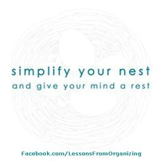 Organizing Quotes -  tips, strategies, suggestions and stories can be found on our website: http://LessonsFromOrganizing.com . Also daily information can be found by LIKING us on Facebook at: http://Facebook.com/LessonsFromOrganizing, and join us on Twitter @lforganizing