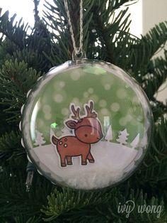 snow globe ornaments   by ishouldbsleepingbut