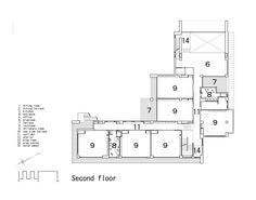 OB Kindergarten and Nursery,Floor Plan Building Layout, Building A Pool, Cottage Floor Plans, House Floor Plans, Shiro, Classroom Floor Plan, Single Level Floor Plans, Little House Plans, Create Floor Plan