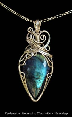 Do Want- Evening Star Labradorite Pendant