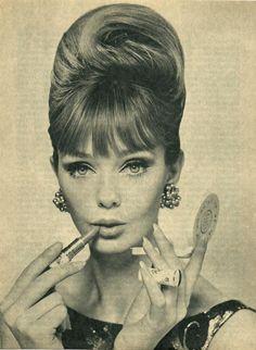 vintage fashion, style, ladies, women, hair, makeup | Favimages.net
