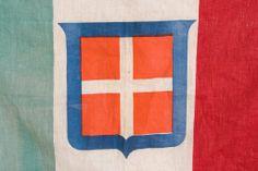 Vintage Italian Flag - Kingdom of Sardinia