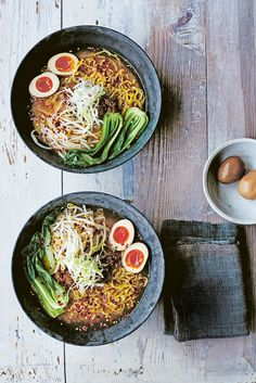 Check out this super simple ramen recipe from Tim Anderson. This Japanese ramen is easy to make and packed with punchy flavour, a perfect midweek warming meal to feed the family