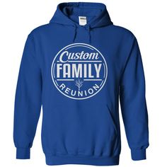 Family Reunion - Circle - Personalized