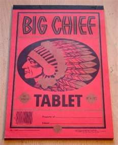 Made in St. Joseph, MO. The  house of the owner that made Big chief is now the Albrecht-Kemper art museum.  Ask to go downstairs into the study. You can see the big chief fireplace mantle.