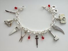 Dexter Morgan Deluxe Charm Bracelet AHHHHH! this is AMAZING! I need this in my life lol