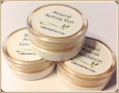 SALE Mineral Makeup STARTER KIT Pure Skin by LittleStuff4u on Etsy