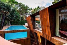 Villa al Mare / Lanfranco Pollini  Location: Lignano Pineta, Italy.