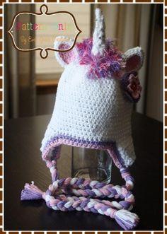 Unicorn Hat Crochet Pattern - GLIMMER