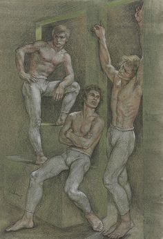 Dancers Backstage, Paul Cadmus