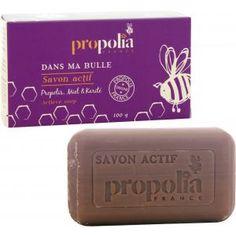 Propolia vous offre tous les miracles de la #Ruche pour votre peau, dans ce #Savon Actif à l'action purifiante…