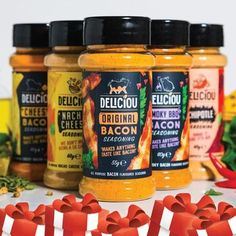 Deliciou - All Products - Make Plant-Based Cooking Easy Vegan Recipes Plant Based, Vegetarian Recipes, Cooking Recipes, Bacon Recipes, Keto Recipes, Dehydrated Vegetables, Eating Vegetables, Veggies, Bacon Seasoning