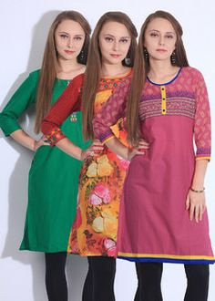 Women's Clothing Holi Special – Extra 35% Off on Kurti Packs