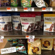 Available now at #StopandShop! #barkTHINS #snackingchocolate #fairtrade #nonGMO