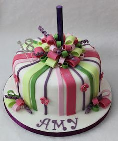 18th birthday cakes desserts pinterest cake ideas names and on birthday cake fountain candles