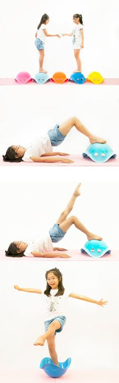 Bilibo also serves as a training tool. Here are some examples from the Bilibo Pilates classes in Japan: www.bilibopilates.com